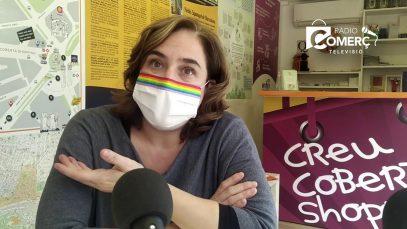 """Ada Colau: """"La pandèmia referma el que pensàvem, cal canviar el model turístic"""""""