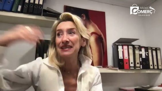 """<div class='avantitol'>""""La botiga física és imprescindible per als dissenyadors de moda""""</div> Olga Menchén: """"Un 080 virtual ha permès que tothom estigui al Front Row"""""""