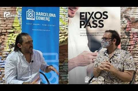 """Sergio Moral: """"L'EixosPass serà l'eina de comunicació de les botigues de Barcelona"""""""