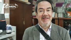 """Jesús Mir: """"A Fabra Centre el comerç ha resistit la covid, només una botiga ha tancat"""""""